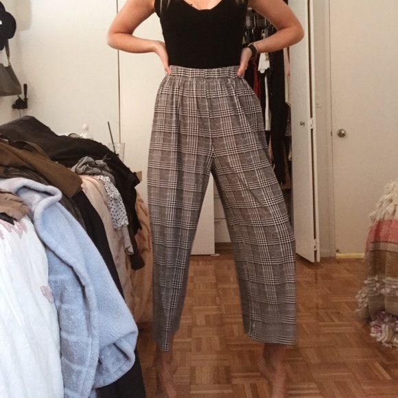 Princess Polly Pants - Houndstooth Pants